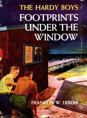 Hardy Boys Footprints Under the Window