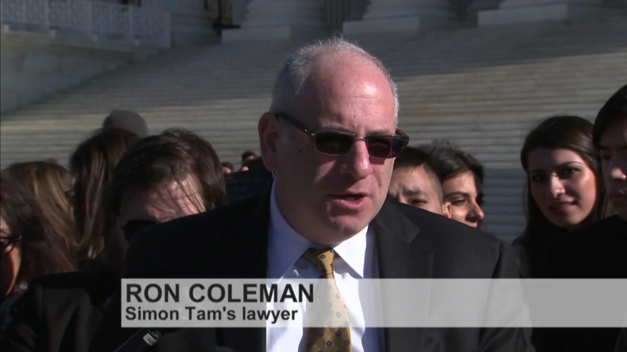 Ronald Coleman - Lawyer for the Slants at US Supreme Court