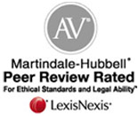 Ronald Coleman AV Martindale Rating