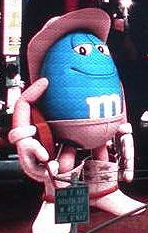nakedcowboy m&M