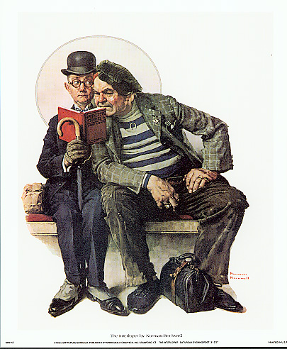 """The Interloper"" (Norman Rockwell)"