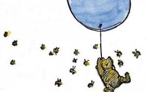 winnie-the-pooh balloon bees